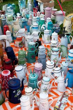 coffee pot collection