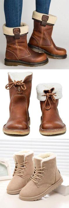 Boots Womens Winter Snow 55 Ideas For 2019 Cute Shoes, Me Too Shoes, Warm Winter Boots, Winter Snow, Snow Boots Women, Crazy Shoes, Autumn Winter Fashion, Shoe Boots, Fashion Accessories