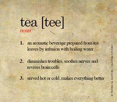 Tea definition