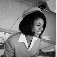 Joan Dorsey. The first African-American Flight Attendant flew for American Airlines. Her FA career spanned 36 years.