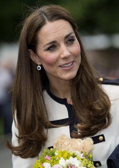 Kate Middleton Visits Bletchley Park - June 18, 2014