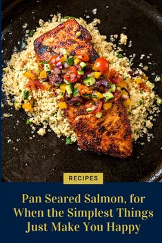 For as long as I can remember now, I've been closing out my days and ushering in my evenings with a warm bath. Couscous Recipes, Spicy Salmon, Pan Seared Salmon, Salsa Fresca Recipe, Cheesy Zucchini Rice, Best Seafood Recipes, Salmon Fillets, Other Recipes