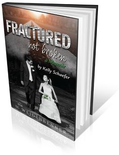 Book cover designed for Kelly Schaefer http://www.amazon.com/Fractured-Not-Broken-Michelle-Weidenbenner-ebook/dp/B010Y0MB02/