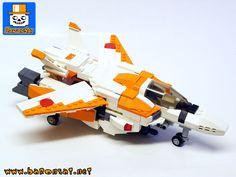 PAGE MODELE CREATION EN LEGO MECHA ROBOT DE COMBAT Z KNIGHT