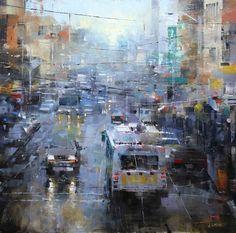Artist: Mark Lague - Title: San Francisco Blue and Gray