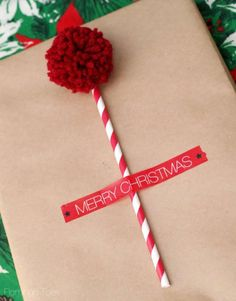 Cute Gift Wrapping Ideas with Pom Poms