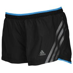 "adidas Climacool Supernova 2.5"" Running Shorts - Women's - Running - Clothing - Blast Blue/Red Zest"