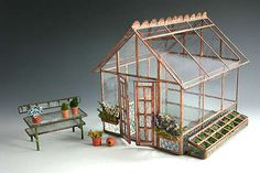 Sunflower Glass Studio | Minature Buildings