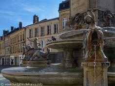 La Fontaine Charles de Gonzague. Charleville-Mezieres