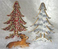 $25.00 Handmade Christmas tree from artisan paper