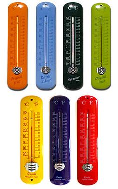 Enamel Thermometers $28