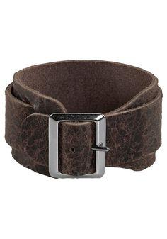 Produkttyp , Armband, |Material , Leder, |Nickelfrei , Ja, |Farbe , braun, | ...