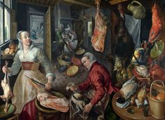 Joachim Beuckelaer - The Four Elements: Fire [1570] | Flickr - Photo Sharing!