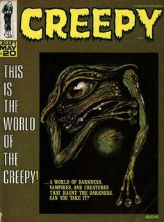 Cover for Creepy (Warren, 1964 series) #20 May 1968