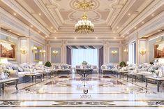Luxury Majlis on Behance Interior Design Companies, Luxury Interior, Furniture Design, Behance, Architecture, Interiors, 3d, Model, Behavior