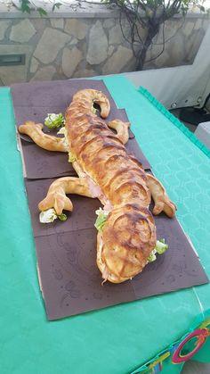 Safari hungle party .... forma pane alligatore farcito
