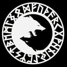 Fenrir wolf symbol - photo#52