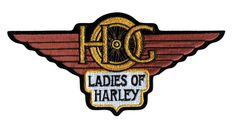 HOG Ladies of Harley Patch