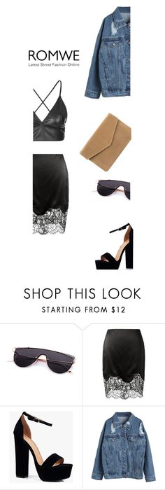 """Church yard"" by mariaandiexo ❤ liked on Polyvore featuring Givenchy, Boohoo and WithChic"