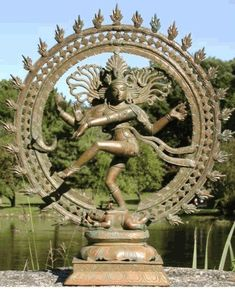 Giant Statue of Shiva CERN - Bing Images