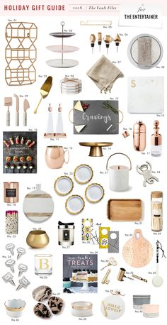 Today I'm kicking off the Holiday Gift Guides here on the blog with my favorite picks for the entertainers in your life. I'd say that if ...