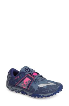 Brooks 'PureGrit 4' Trail Running Shoe (Women) size 8.5 $119. -for all the rainy trails in my future...
