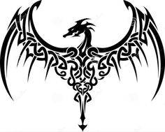 TattooCeltic Dragon_ Embroidery Designs, Machine Embroidery Designs at EmbroideryDesig.Celtic Dragon_ Embroidery Designs, Machine Embroidery Designs at EmbroideryDesigns. Dragon Tatoo, Tribal Dragon Tattoos, Celtic Dragon Tattoos, Dragon Tattoo Designs, Snake Tattoo, Dragon Art, Dragon Wing, Fantasy Dragon, Tiger Tattoo