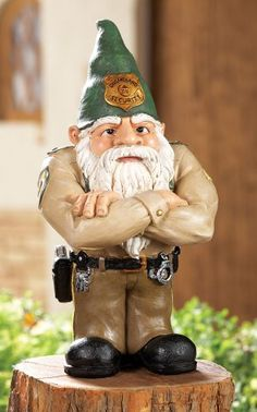 Whimsical Gnomeland Security Garden Gnome Statue Collections Etc http://www.amazon.com/dp/B00JROLXFG/ref=cm_sw_r_pi_dp_0OCPtb14VC6K76SX