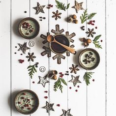 Because … December, and wreaths ; It's been snowing for a couple days and the forecast is for more (lots more), so a bit of baking,…