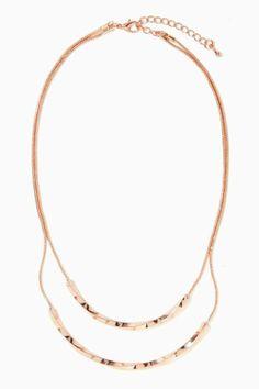 Twist Up Necklace