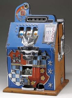 Mills castle front 10cent slot machine - 1930s