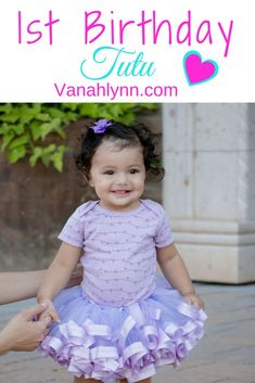 Your little girl needs the perfect outfit for their first birthday! A stunning ribbon tutu is perfect for cake smashes, 1st birthday photographs, and an eye catcher at their birthday party. The bright beautiful colors are achieved with high quality tulle and satin ribbon. Find this style and many others at VanahLynn.com| | Vanah Lynn Designs | Kids Birthday Party Ideas | Birthday Outfit Ideas For Girls |#VanahLynn #1stBirthday #CakeSmash #BabyFirst