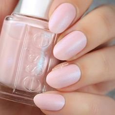Just Stitched - Light Pink Cashmere Matte Nail Polish Manicure - Essie Fan Favorite Looks