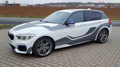 BMW 140i striping wraps design by ttstudio.ru
