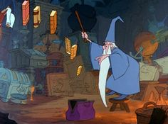 """""""Shrink In Size, Very Small, We've Got To Save Enough Room For All!"""" - The Sword In The Stone"""