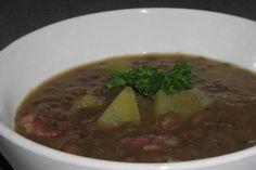 German Lentil Soup. Photo by TeresaS