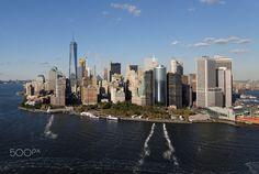 Hubschrauberflug, Lower Manhattan, New York City, United States Lower Manhattan, New York City, New York Skyline, United States, Nyc, Canada, The Unit, Travel, Viajes