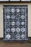 """Before the iphone"" quilt using hexagons (camera quilt)"