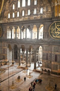 Hagia Sophia  Aghia Sophia  (Ayasofya)  Istanbul  Turkey (Photographs by Bülent Özalp)56