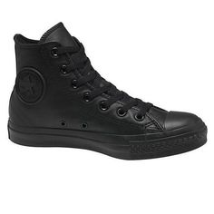 Ideas For How To Wear Converse With Jeans High Tops Black Skinnies - Schuhe sandalen Converse Leather High Tops, Black High Top Converse, Black High Tops, Converse Shoes, All Black Sneakers, High Top Sneakers, Vans, Comfortable Mens Shoes, High Jeans