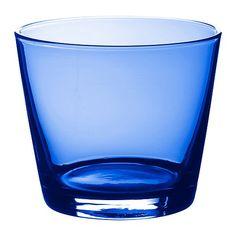 IKEA - DIOD, Verre, Chaque verre a été soufflé à la bouche par un artisan qualifié.Peuvent s'empiler les uns dans les autres pour gagner de la place dans le meuble.La forme simple, basse et droite de ce verre permet d'y servir idéalement toutes sortes de boissons froides, comme des cocktails sans glaçon par exemple.Grâce à sa forme généreuse, ce verre peut aussi être utilisé pour servir de délicieux desserts.