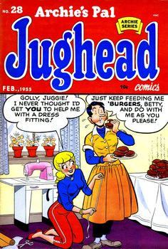 A cover gallery for the comic book Jughead