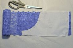 mamemimo: culotte blonda con tutorial Sewing Lingerie, Lace Lingerie Set, Women Lingerie, Dress Sewing Patterns, Fabric Patterns, Sewing Hacks, Sewing Projects, Diy Bralette, Underwear Pattern