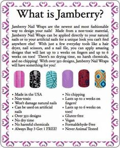 What is Jamberry                                   http://www.susahouk.jamberrynails.net