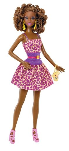 Amazon.com : Barbie So in Style S.I.S. Kara Fashion Doll : Black Barbie Dolls : Toys & Games
