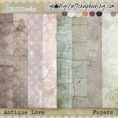 Free Digital Scrapbooking, Index, Project 365, Vintage Ephemera, Journal Cards, Word Art, Php, Swirls, Layout