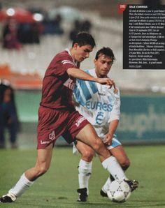 Robert Pires (FC Metz) Fc Metz, Soccer, Baseball Cards, Running, Retro, Sports, Hs Sports, Futbol, European Football