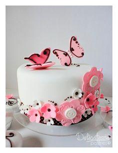 Ideas para fiesta de Flores y Mariposas. Encuentra todos los artículos para tu fiesta en nuestra tienda en línea: http://www.siemprefiesta.com/fiestas-infantiles/ninas/articulos-mariposas-y-flores.html?utm_source=Pinterest&utm_medium=Pin&utm_campaign=Mariposas