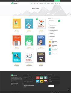 Create an awesome online shop with Optimize WordPress theme today!  #wordpress #theme #webdesign #design #seo #marketing #digitalmarketing #marketingagency #startup #hosting #socialmedia #interactive #analytics #infographic