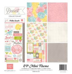 Echo Park Paper Dearest Mini Theme Collection Kit *** See this great product.(It is Amazon affiliate link) #california